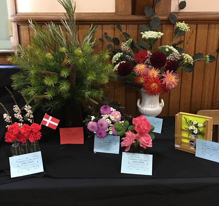 Branxholm Flower Show is on again